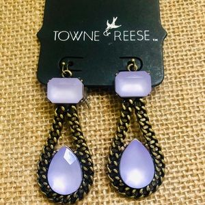 New! Towne & Reese Carter statement earrings